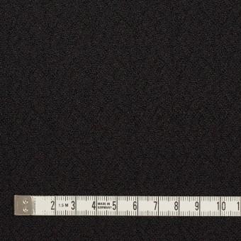 【200cmカット】シルク&レーヨン×無地(ブラック)×ふくれジョーゼット サムネイル4