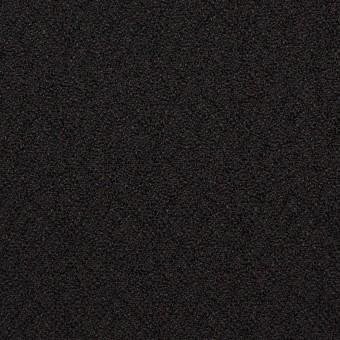 【200cmカット】シルク&レーヨン×無地(ブラック)×ふくれジョーゼット サムネイル1