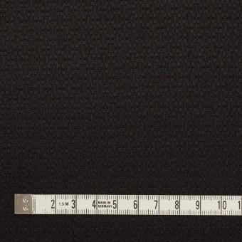 シルク&レーヨン×無地(ブラック)×かわり織 サムネイル4