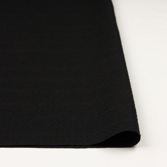 シルク&レーヨン×無地(ブラック)×かわり織 サムネイル3
