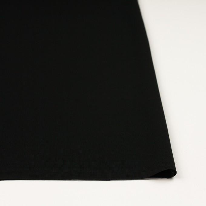 ポリエステル×無地(ブラック)×ジョーゼット イメージ3