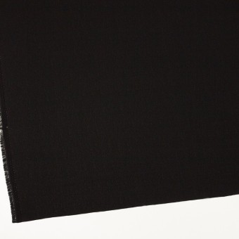 ポリエステル×無地(ブラック)×ジョーゼット サムネイル2