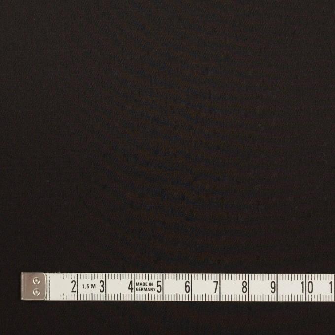ウール&シルク混×無地(ブラック)×オーガンジー_イタリア製 イメージ4