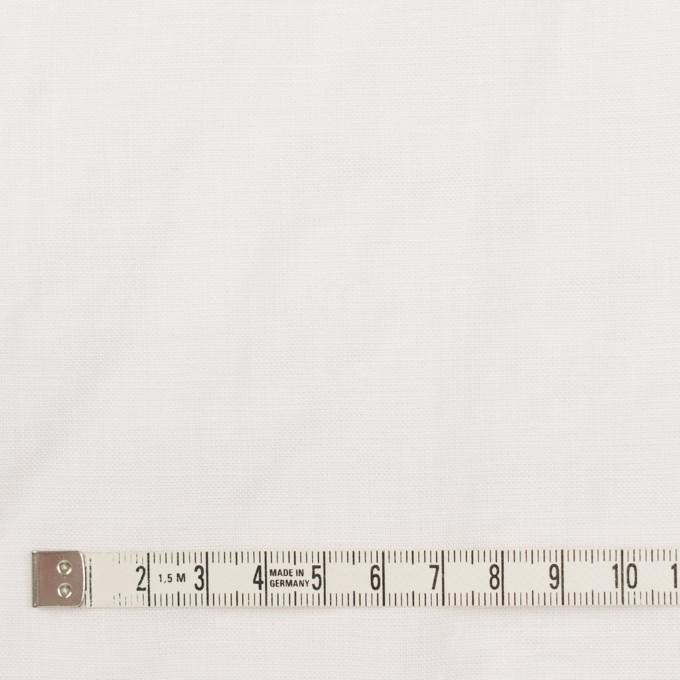 リネン×無地(ホワイト)×薄キャンバス_全25色 イメージ4
