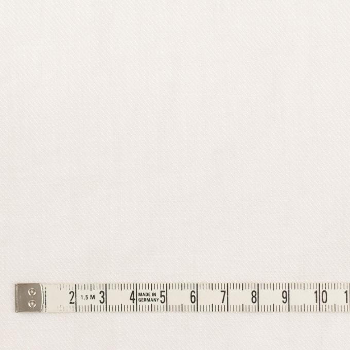 リネン×無地(オフホワイト)×サージ_全22色 イメージ4