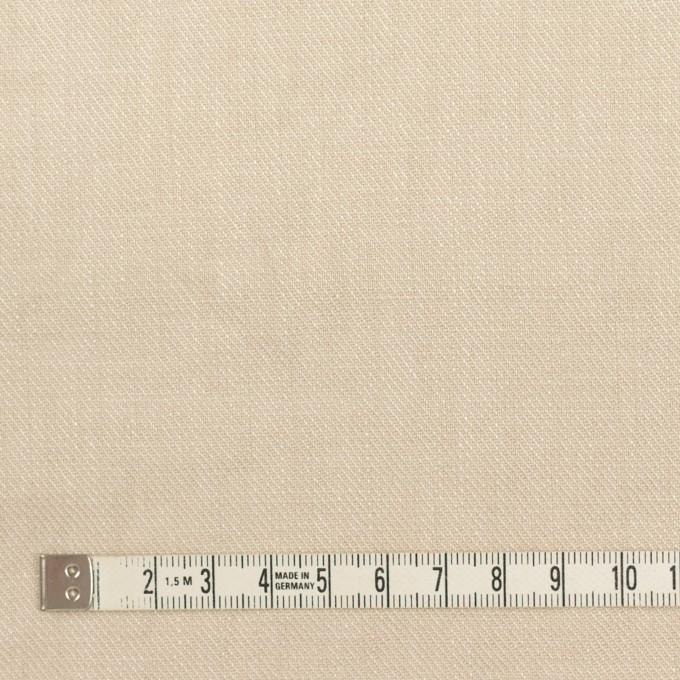 リネン×無地(マッシュルーム)×サージ_全22色 イメージ4