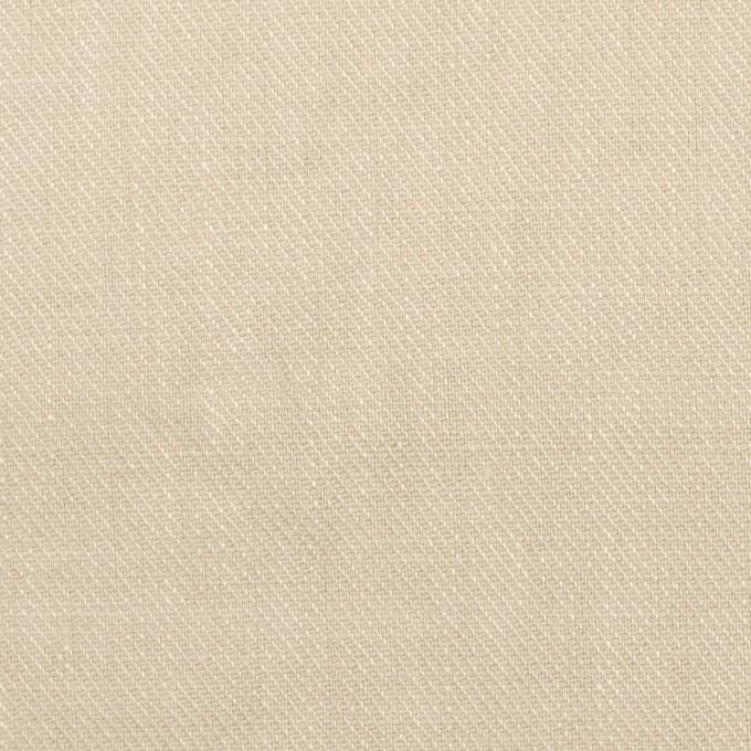 リネン×無地(マッシュルーム)×サージ_全22色 イメージ1