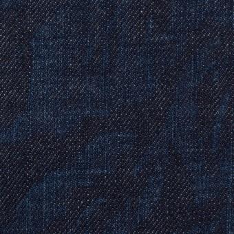 コットン×フラワー(インディゴ)×デニム(10.5oz) サムネイル1