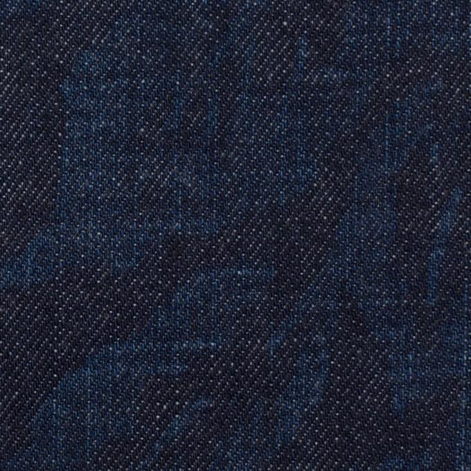 コットン×フラワー(インディゴ)×デニム(10.5oz) イメージ1