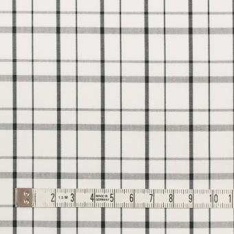 コットン×チェック(オフホワイト)×ブロード_全2色 サムネイル4