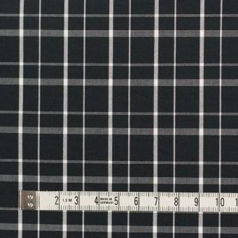 コットン×チェック(ブラック)×ブロード_全2色 サムネイル4