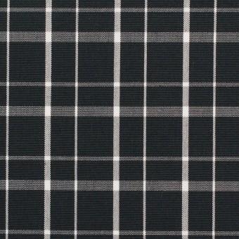 コットン×チェック(ブラック)×ブロード_全2色 サムネイル1