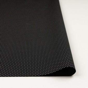 コットン×ドット(ブラック)×ポプリン サムネイル3