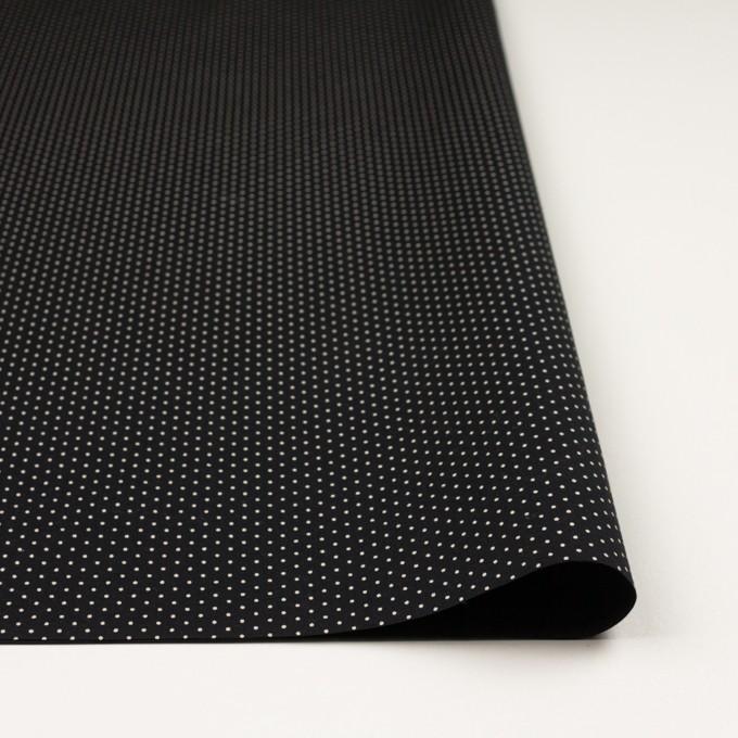 コットン×ドット(ブラック)×ポプリン イメージ3
