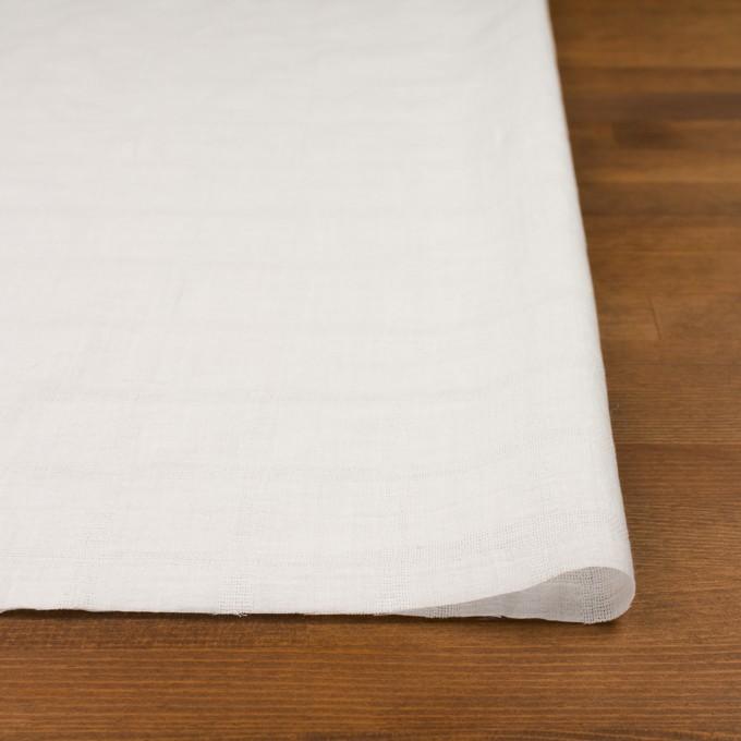 コットン×チェック(オフホワイト)×ボイル&からみ織 イメージ3