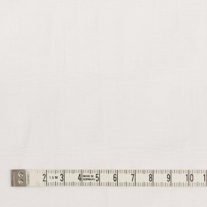 コットン×チェック(オフホワイト)×ボイル&からみ織 イメージ4