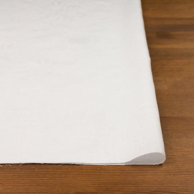 コットン×フラワー(オフホワイト)×ローンジャガード イメージ3