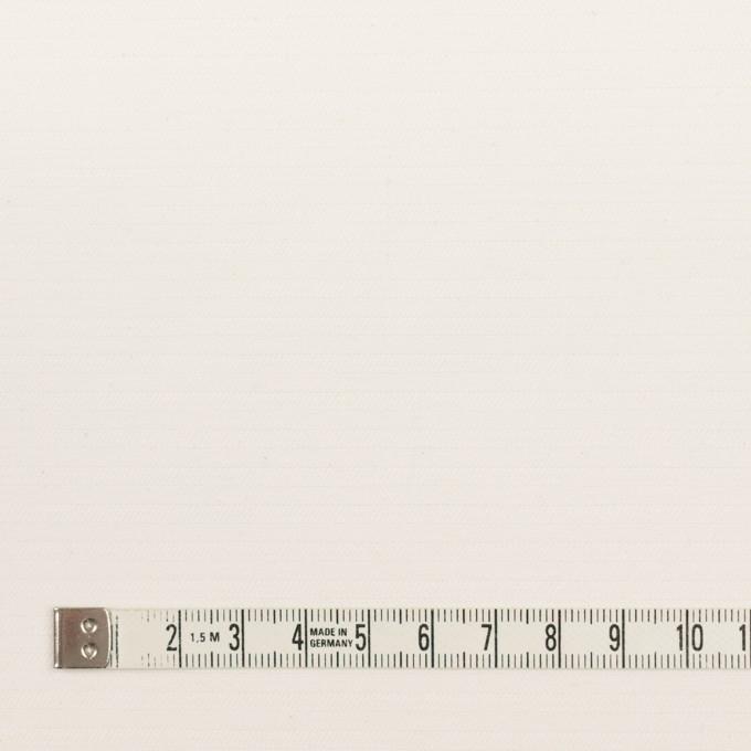 コットン×無地(ミルキーホワイト)×かわり織_イタリア製 イメージ4