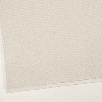 コットン&レーヨン×幾何学模様(グレイッシュベージュ)×グログラン サムネイル2