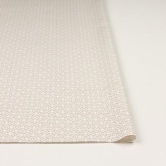 コットン&レーヨン×幾何学模様(グレイッシュベージュ)×グログラン サムネイル3