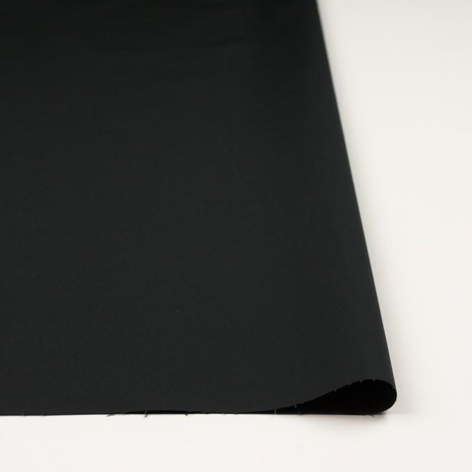 コットン&ポリウレタン×無地(ブラック)×ブロードストレッチ_全5色 イメージ3