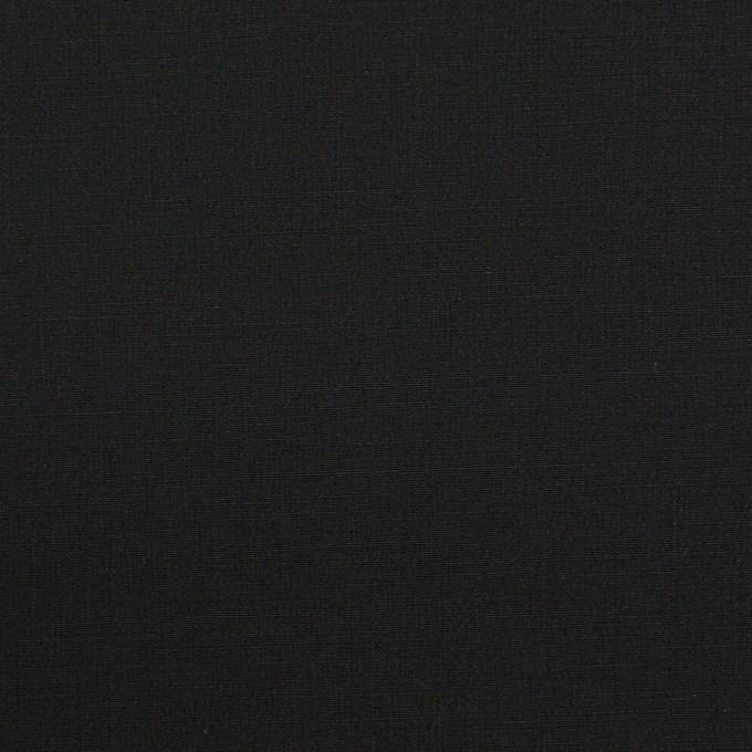 コットン&ポリウレタン×無地(ブラック)×ブロードストレッチ_全5色 イメージ1