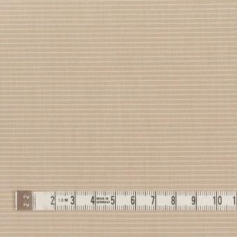 コットン×ボーダー(ベージュ)×シャンブレー_イタリア製 サムネイル4