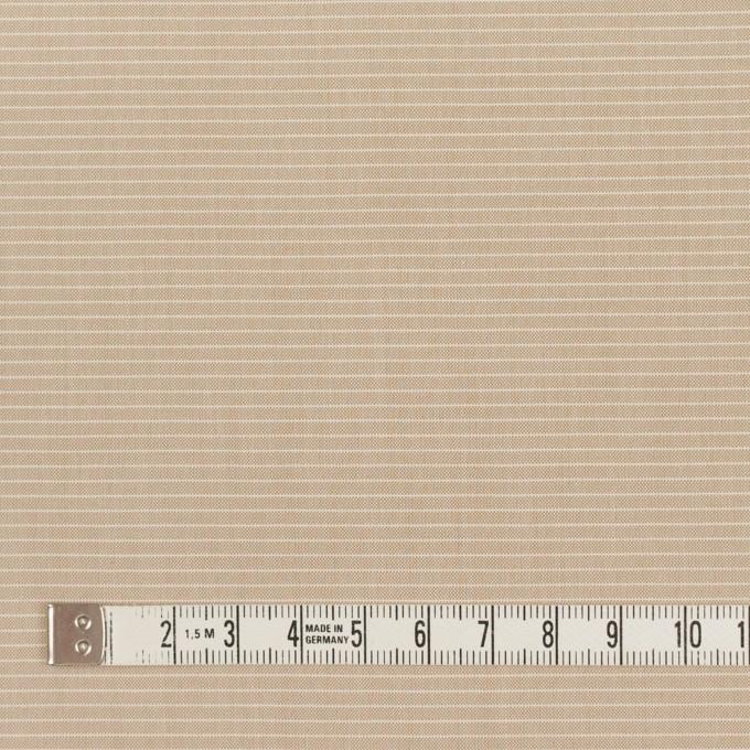 コットン×ボーダー(ベージュ)×シャンブレー_イタリア製 イメージ4