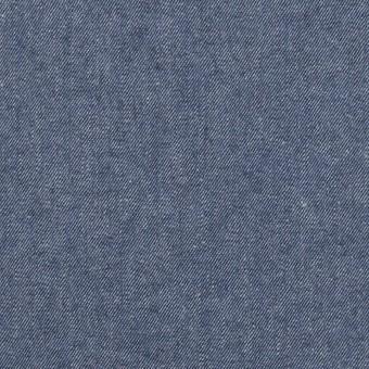 【120cmカット】コットン×無地(スモークブルー)×シャンブレー・ギャバジン