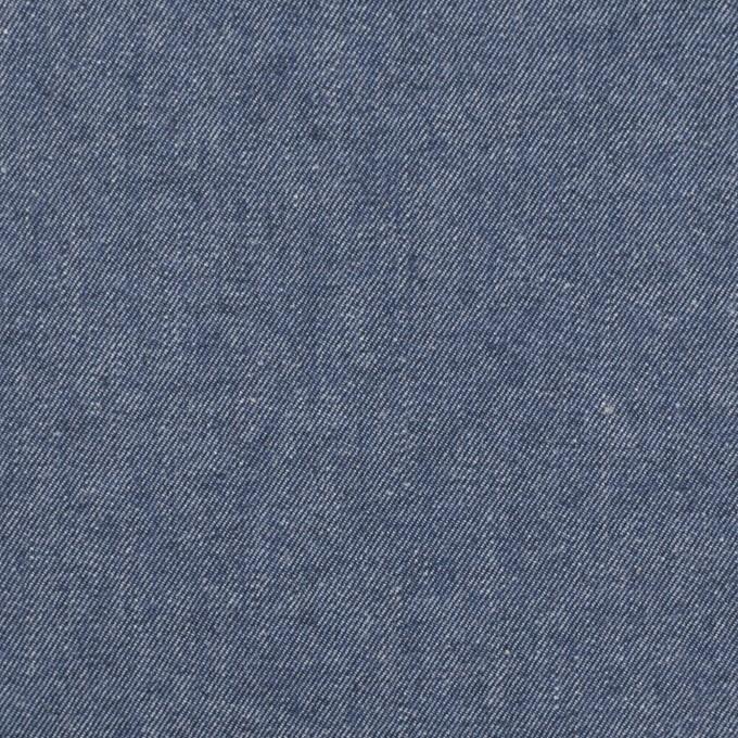 コットン×無地(スモークブルー)×シャンブレー・ギャバジン イメージ1
