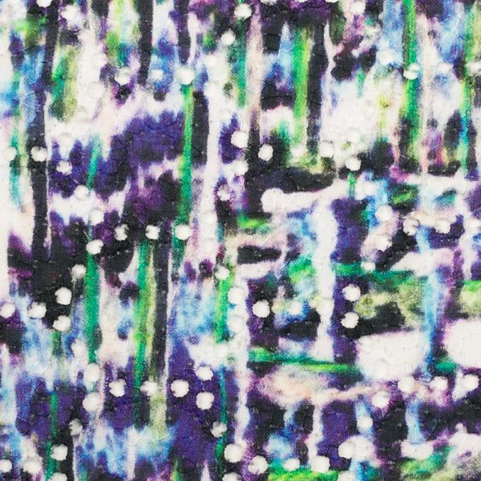 コットン×ペイント(マルチ)×ローン刺繍 イメージ1