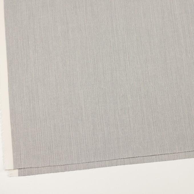 ウール&ポリウレタン×ミックス(アイボリー&ブラック)×かわり織ストレッチ イメージ2