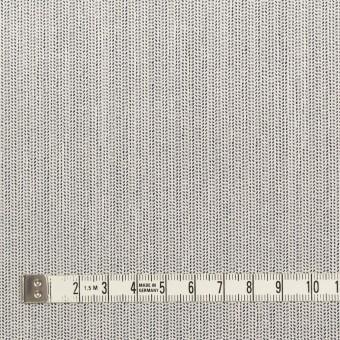 ウール&ポリウレタン×ミックス(アイボリー&ブラック)×かわり織ストレッチ サムネイル4