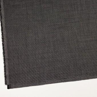 ウール&レーヨン×ミックス(ブラック)×かわり織 サムネイル2