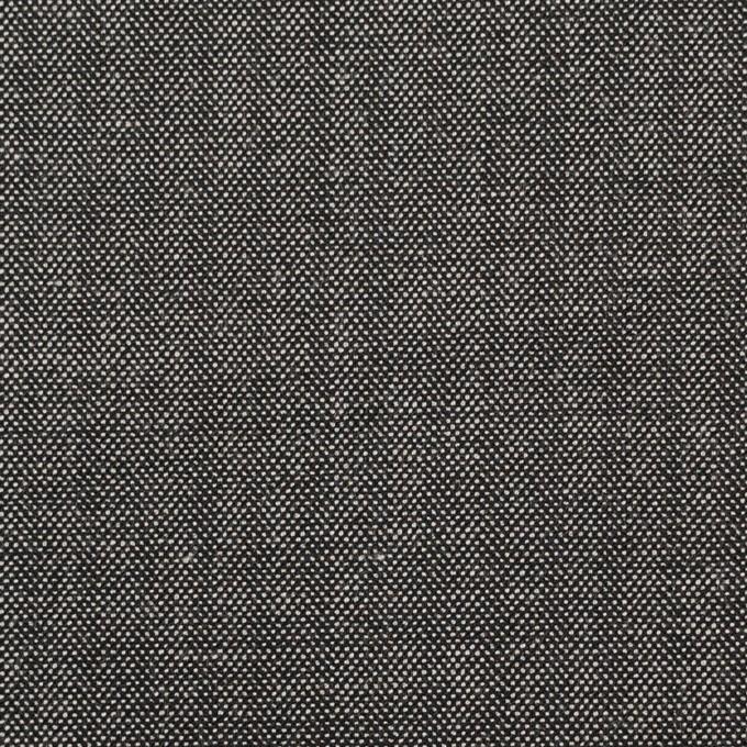 ウール&レーヨン混×無地(チャコール)×ポプリンストレッチ イメージ1