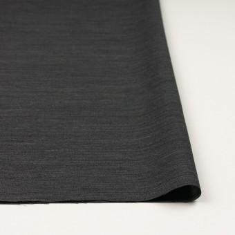 ウール&キュプラ×無地(チャコール)×薄サージ サムネイル3