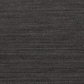 ウール&キュプラ×無地(チャコール)×薄サージ サムネイル1