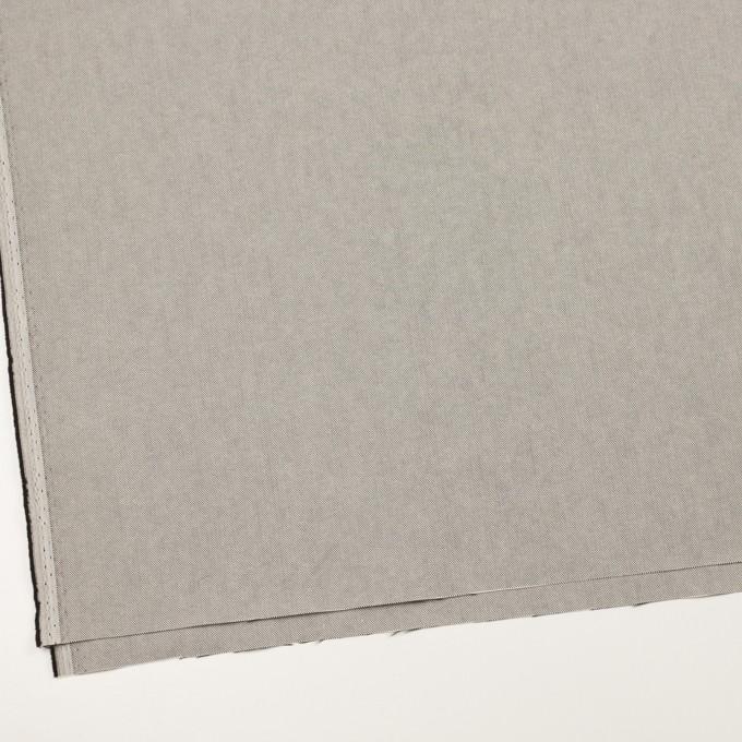 コットン×無地(ライトグレー)×オックスフォード_全2色_イタリア製 イメージ2