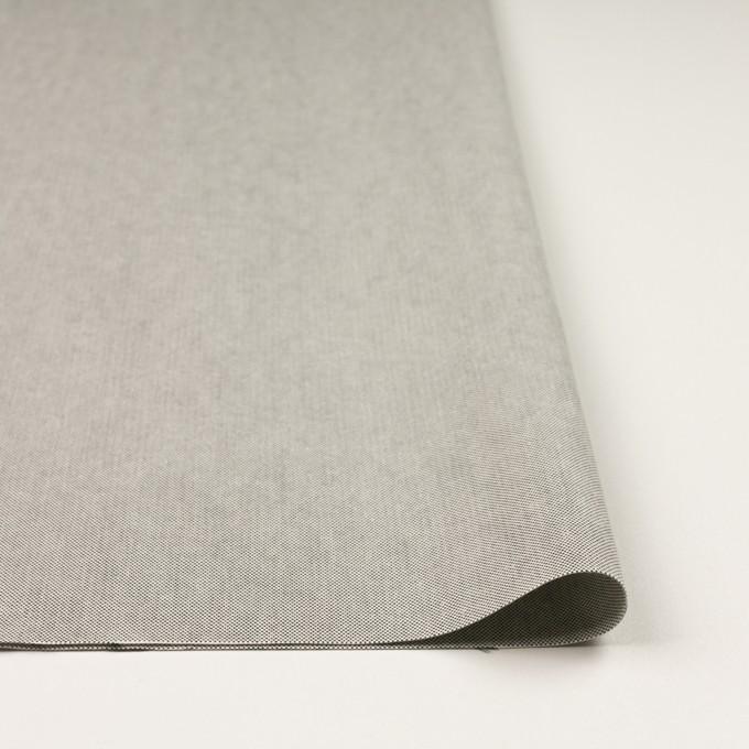 コットン×無地(ライトグレー)×オックスフォード_全2色_イタリア製 イメージ3
