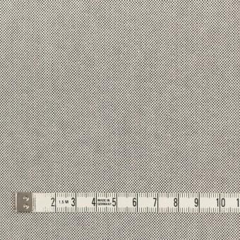 コットン×無地(ライトグレー)×オックスフォード_全2色_イタリア製 サムネイル4