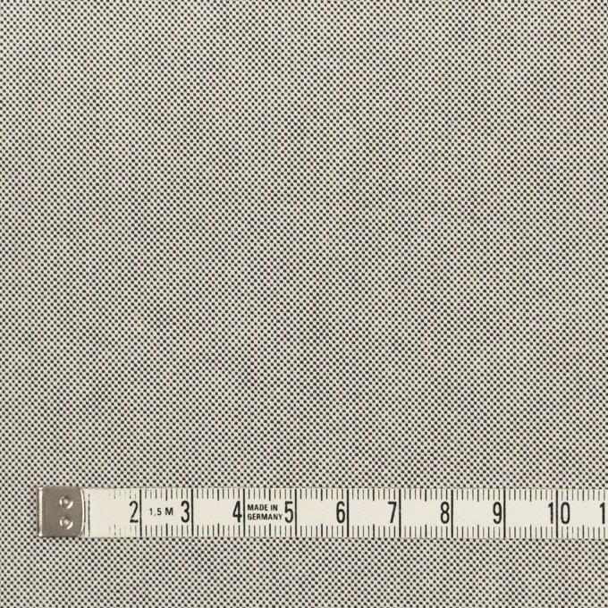 コットン×無地(ライトグレー)×オックスフォード_全2色_イタリア製 イメージ4