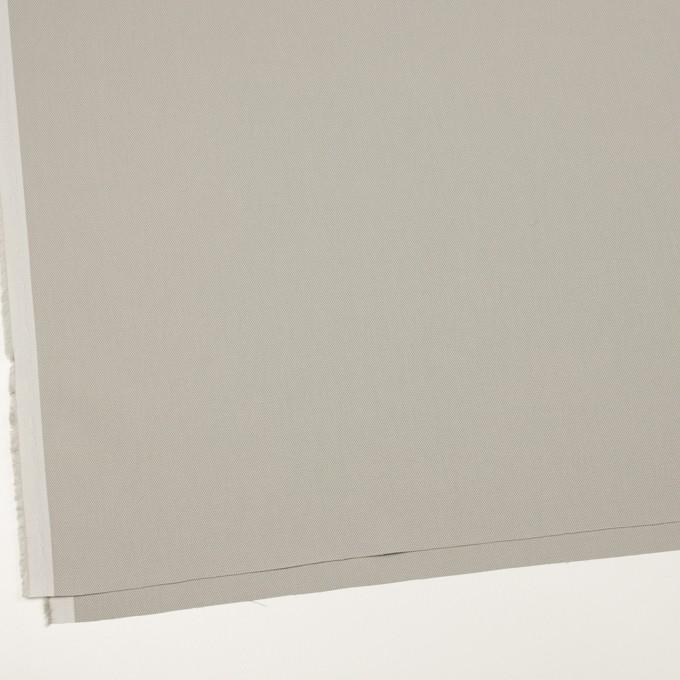 コットン×無地(ライトグレー)×二重織_全3色_イタリア製 イメージ2