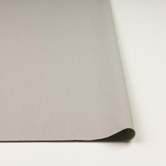 コットン×無地(ライトグレー)×二重織_全3色_イタリア製 サムネイル3