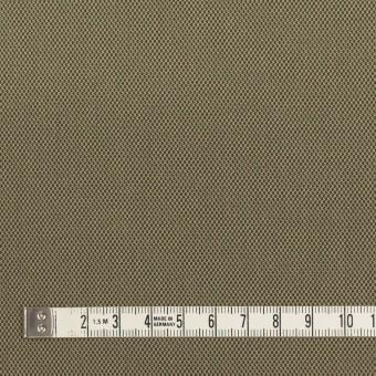 コットン×無地(カーキ)×二重織_全3色_イタリア製 サムネイル4