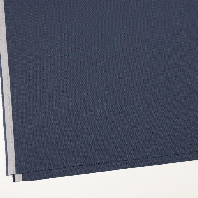 コットン×無地(スレートネイビー)×二重織_全3色_イタリア製 イメージ2