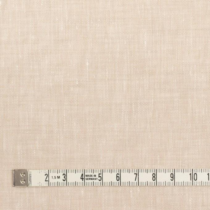 リネン×無地(ライトベージュ)×薄キャンバス_全6色 イメージ4