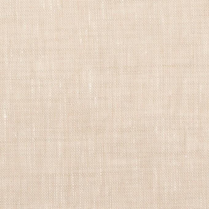 リネン×無地(ライトベージュ)×薄キャンバス_全6色 イメージ1