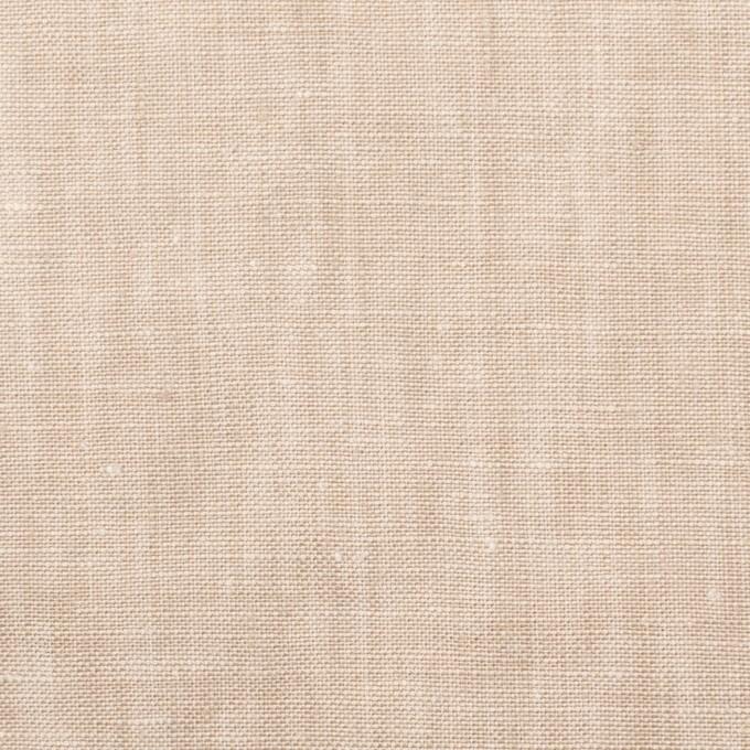 リネン×無地(ベージュ)×薄キャンバス_全6色 イメージ1