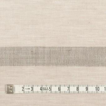 コットン&リネン×ボーダー(グレイッシュベージュ)×ボイルジャガード サムネイル4