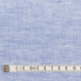 リネン×無地(ブルー)×薄キャンバス_全4色 サムネイル4